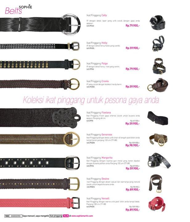 Katalog Sophie Martin Edisi Januari - Februari 2011. Halaman 160