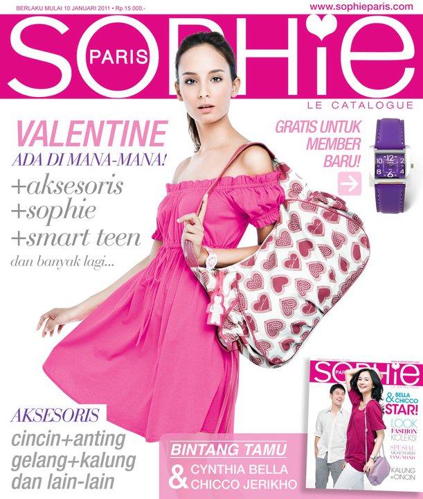 Katalog Sophie Martin Edisi Januari - Februari 2011. Cover